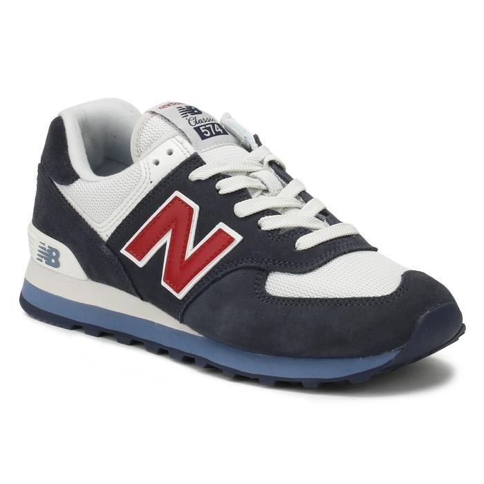 new balance ml574 rouge