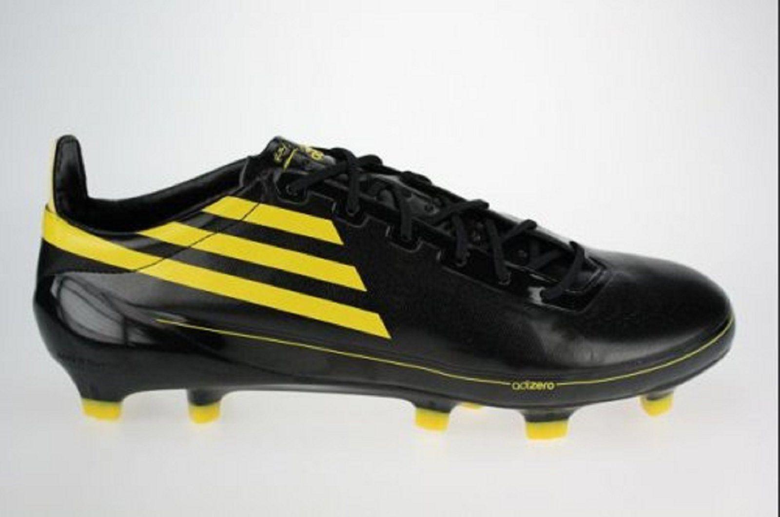 adidas f50 jaune noir