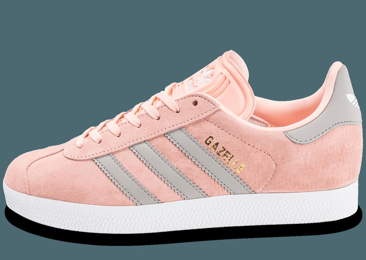 Promotion de groupe adidas gazelle femme gris rose.Dédié à ...