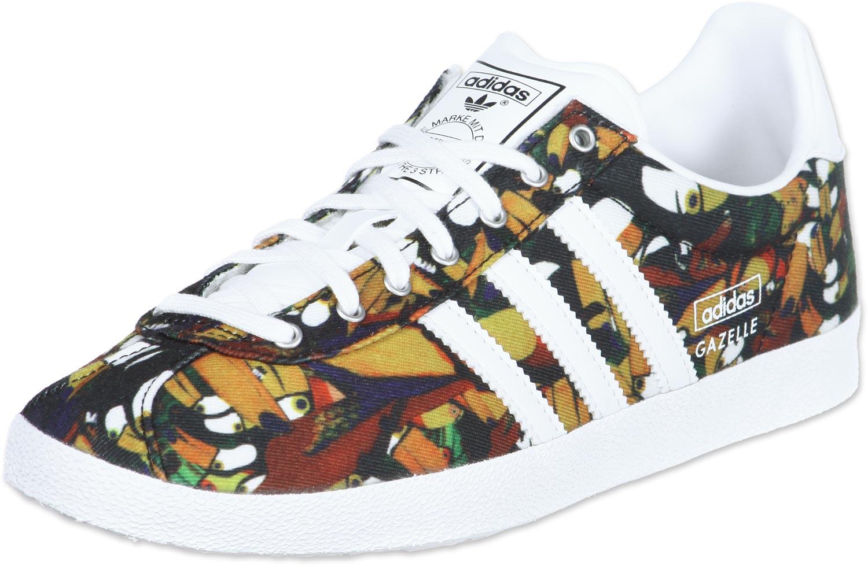 gazelle adidas fleurs