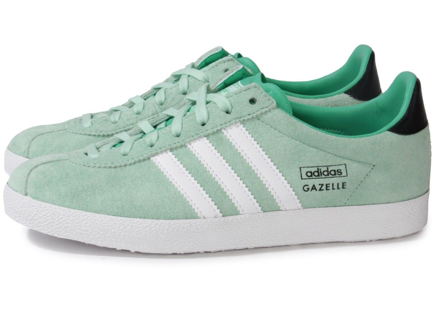 Promotion de groupe adidas gazelle vert menthe.Dédié à