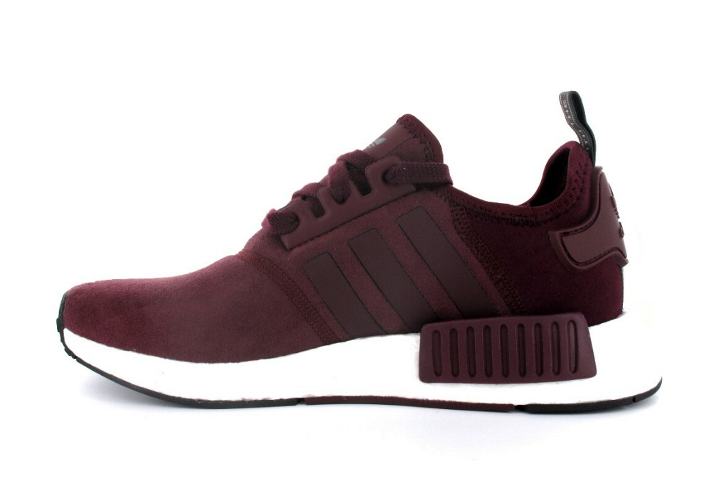 Adidas NMD R1 Original Bordeaux Blanche Chaussures pour