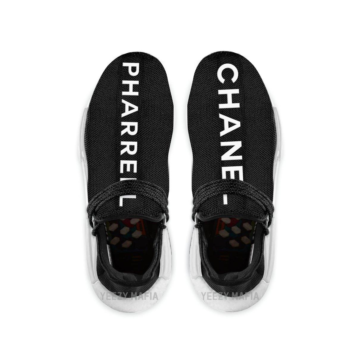 Promotion de groupe adidas nmd human race chanel.Dédié à