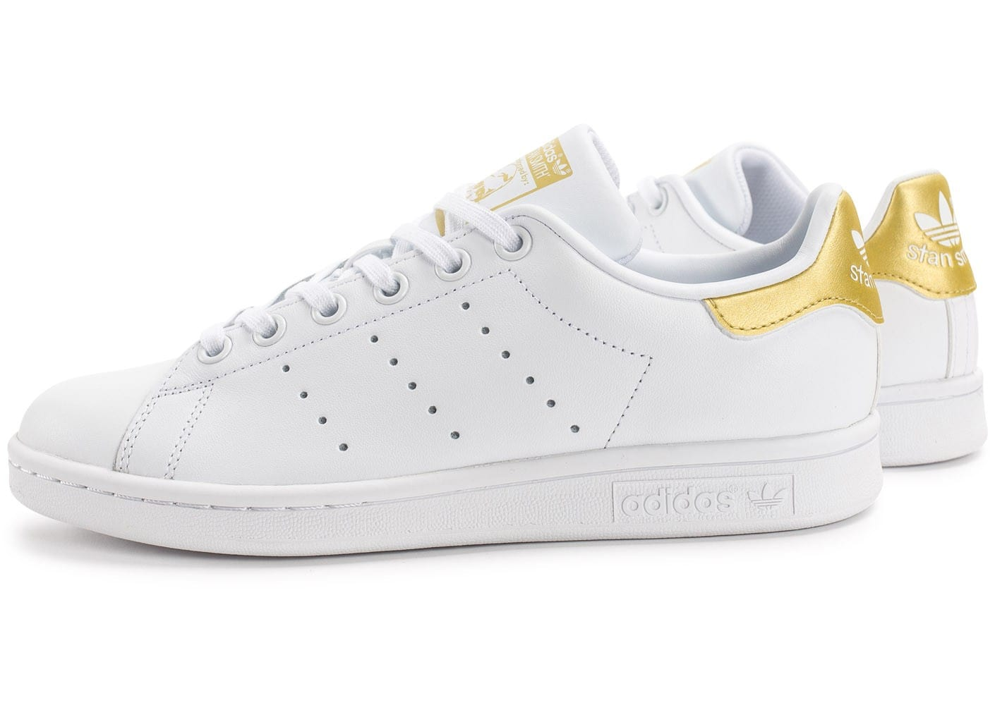 Adidas Stan Smith Blanc Rose Or Métallique BB1434 Soldes