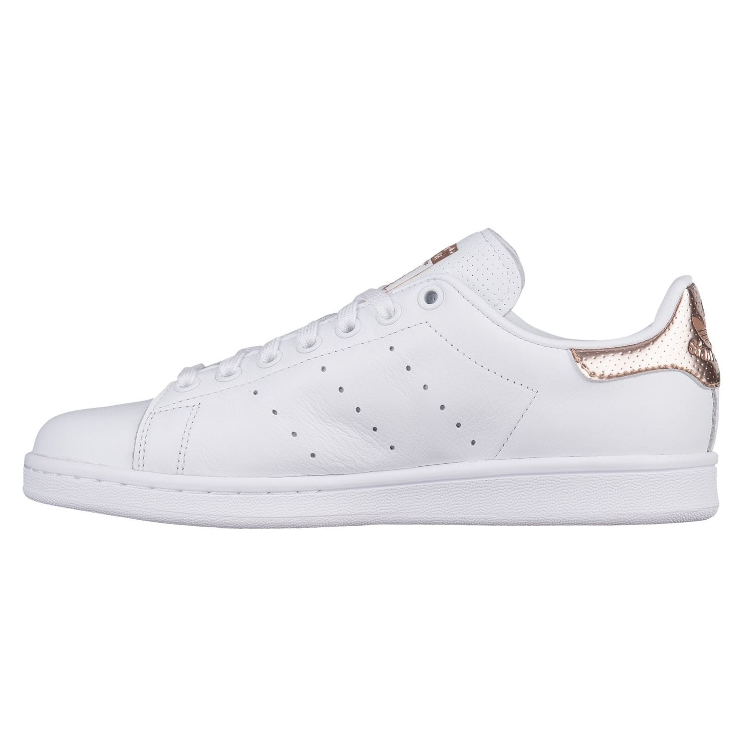 Adidas Stan Smith Rose Gold Argent Blanc | snackers