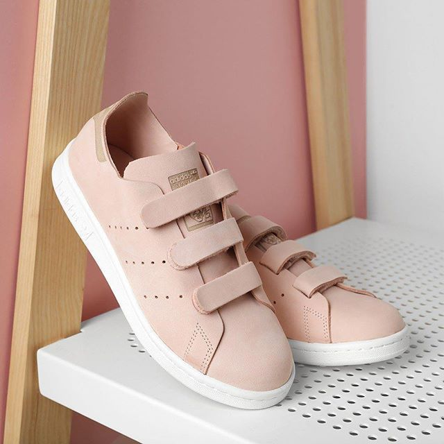 stan smith femme rose pale