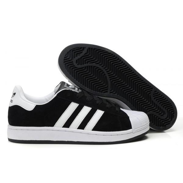 remise 14b4f 9e84b Promotion de groupe adidas superstar 2 blanche et noir.Dédié ...