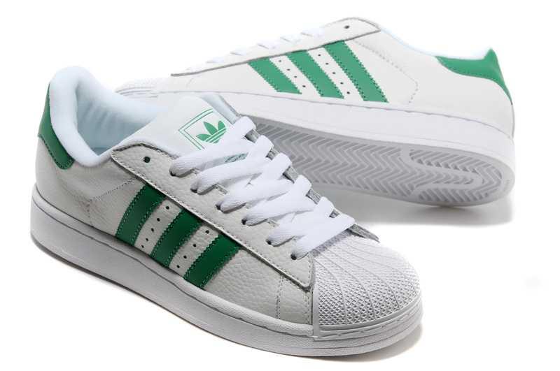 superstar adidas vert