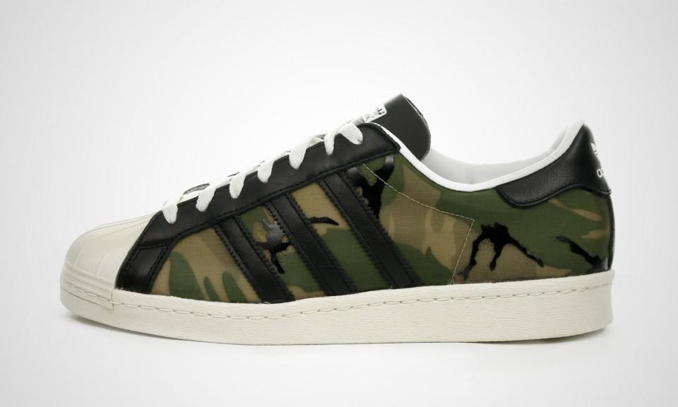 adidas superstar camouflage hommes