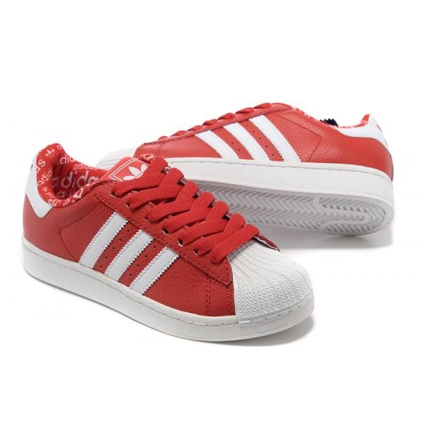 Adidas Superstar Femme Rouge,soldes Adidas Superstar Femme
