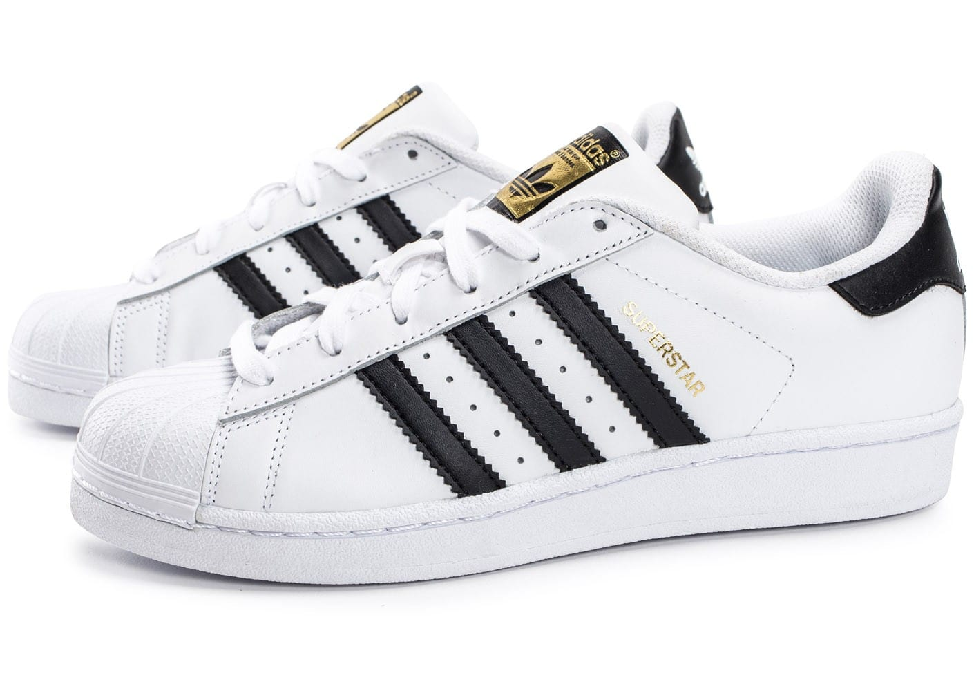 préférence Blancnoir Baskets adidas Originals Superstar