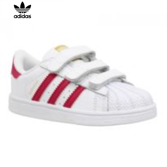 adidas Superstar Foundation J W chaussures blanc rose