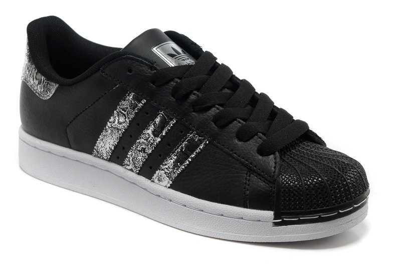 Promotion de groupe adidas superstar noir et argent.Dédié à