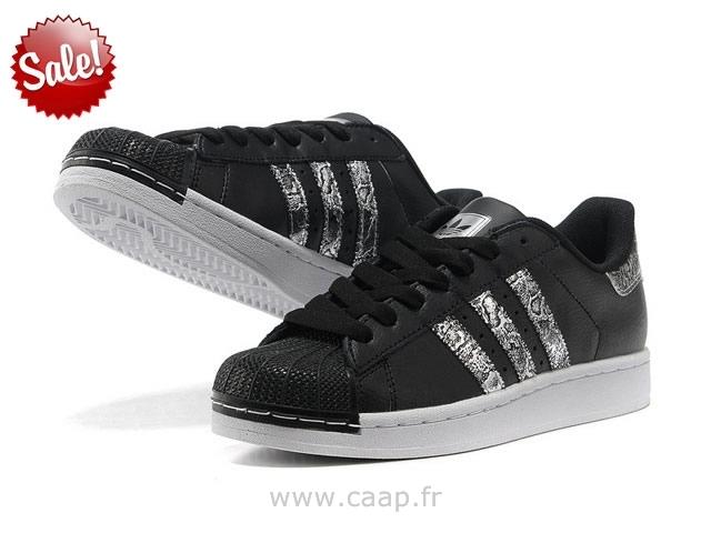 adidas noir bout brillant