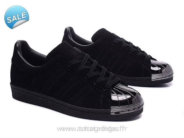 adidas superstar noir brillant