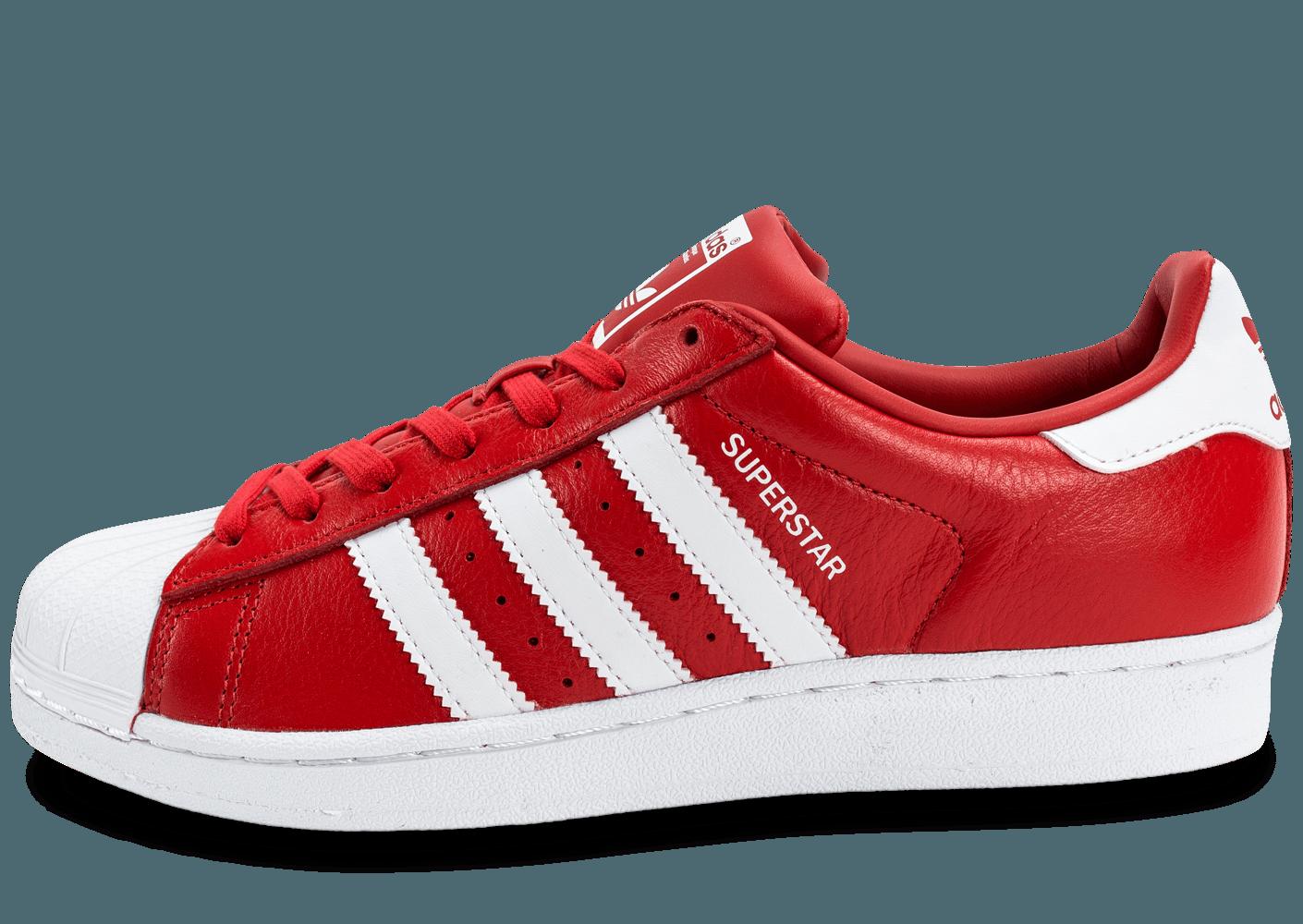 Promotion de groupe adidas superstar rouge.Dédié à