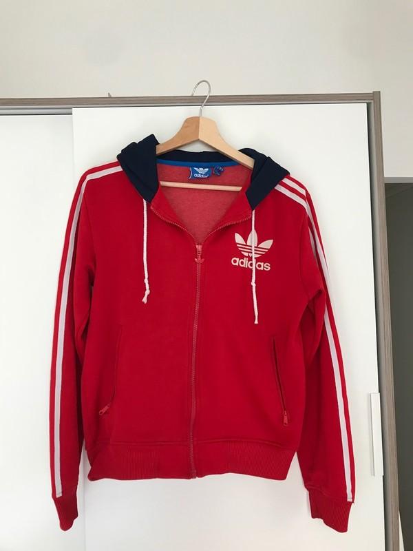 Adidas À Promotion Économiser Vintage De dédié Veste L Groupe qVUMpSz