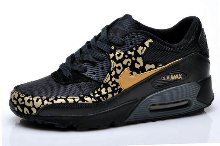 air max noir leopard