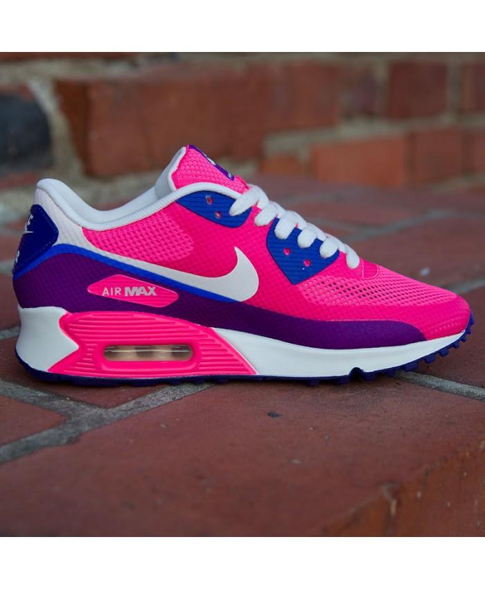 air max rose et bleu