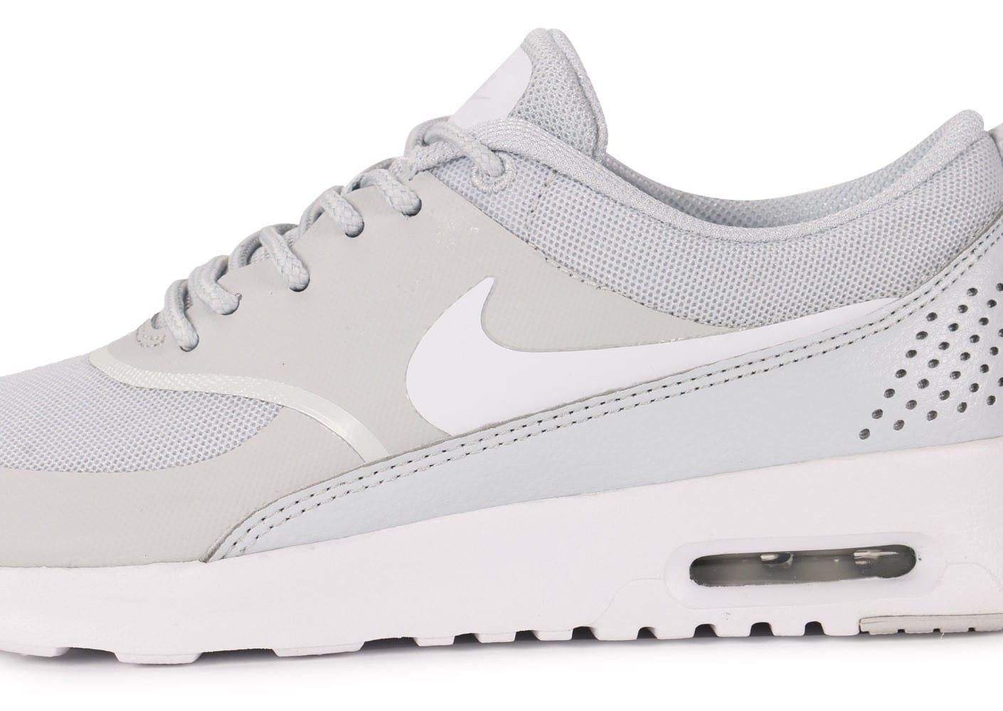 genuine shoes wholesale catch Promotion de groupe air max thea grise et blanche.Dédié à ...