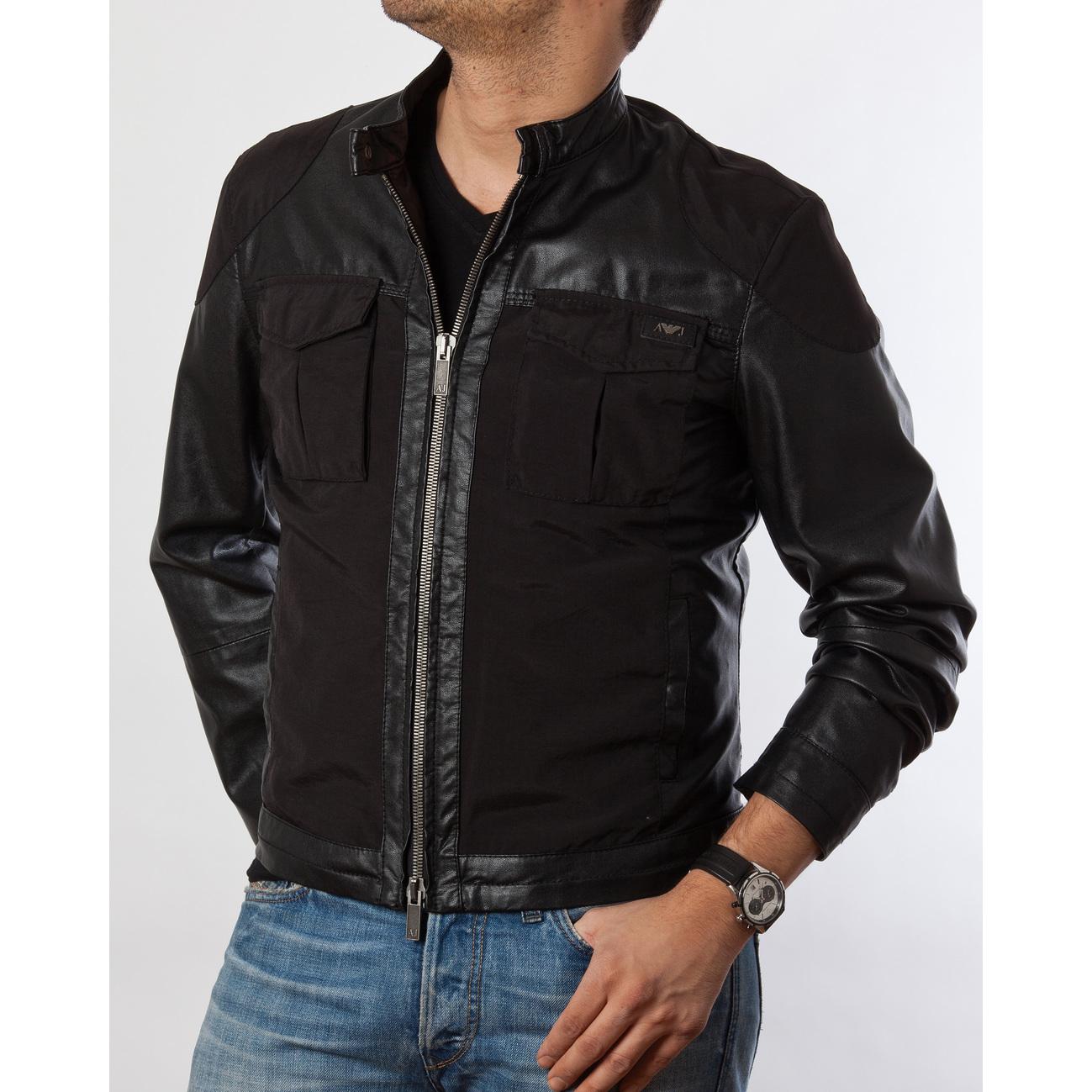 d96890438e49 Prix directeurs d usine armani veste en cuir Pas cher.Retrouvez les  informations sur les produits et les meilleurs prix sur les cha