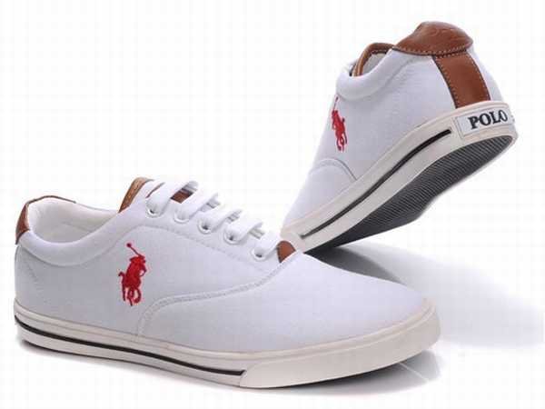 Vente Baskets Cher Ralph Homme Lauren Chaussures En Pas