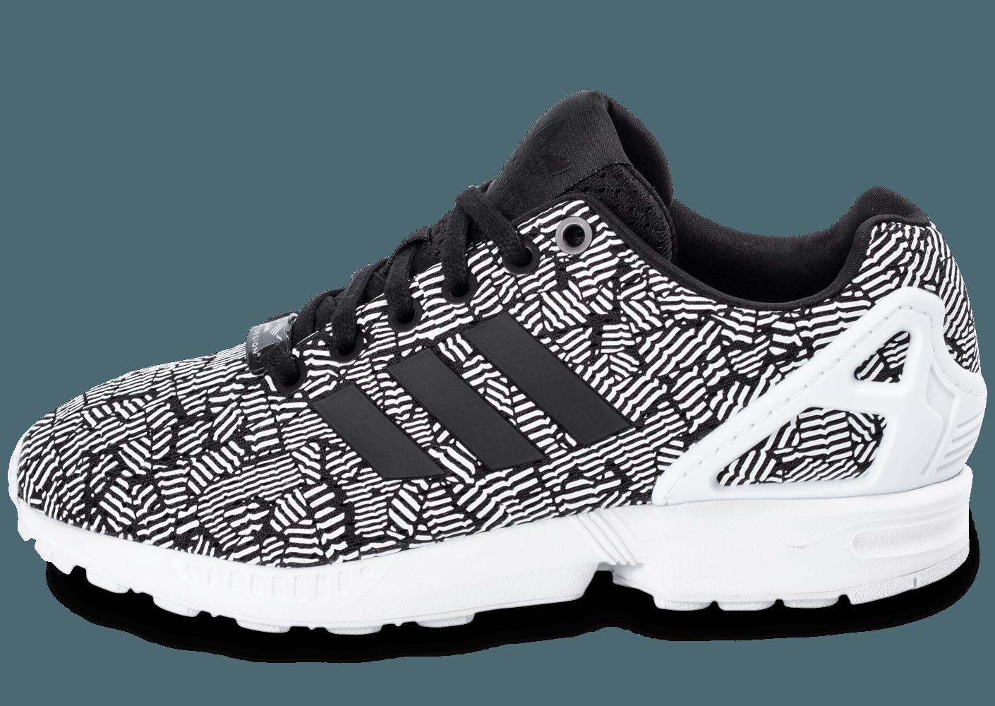 info pour fe6a4 2be38 Promotion de groupe chaussure adidas zx flux noir et blanc ...