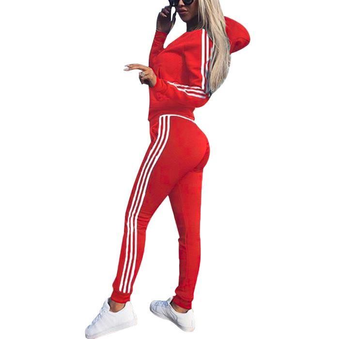 Groupe Femme Cher De dédié Survetement Promotion Adidas Ensemble Pas KJ1clF