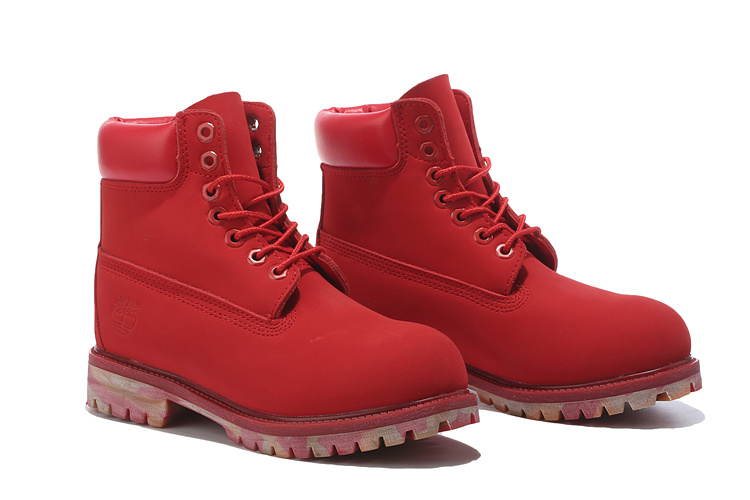 timberland rouge femme pas cher